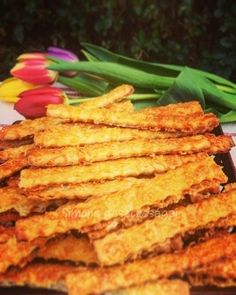 Savory Pastry, Salty Cake, Paleo, Baked Goods, Asparagus, Hamburger, Biscuits, Bacon, Food And Drink