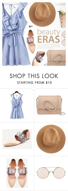 """""""Happy Hour"""" by pokadoll ❤ liked on Polyvore featuring WithChic, 3.1 Phillip Lim and Sunday Somewhere"""