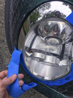 We found the best headlight restoration kit, and want to share our process with you. Restore your headlights inexpensively and in 30 minutes. Cleaning Headlights On Car, Best Headlights, How To Clean Headlights, Headlight Repair, Headlight Cleaner, Headlight Lens, Headlight Restoration, Car Restoration, Car Cleaning Hacks