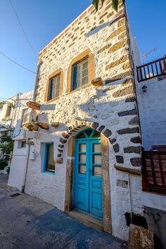 Scala, Patmos Island, Aegean_ Greece