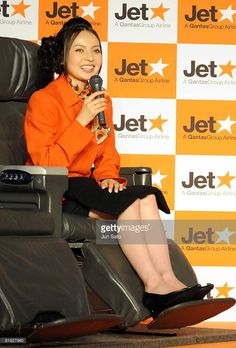 Actress Becky attends Jetstar's press conference of a new fare campaign to Australia at the Westin Hotel Tokyo on July 14, 2008 in Tokyo, Japan.
