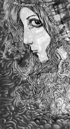 Illustration by Beverley Coraldean www.genealityart.com Mona Lisa, Illustration, Artwork, Work Of Art, Illustrations