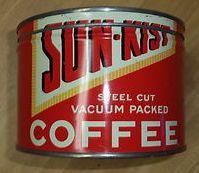 Sun-Kist Steel Cut Vacuum Packed Coffee