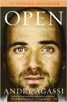 Autobiography of Andre Agassi - Open Reading Lists, Book Lists, Book Club Books, Books To Read, Best Autobiographies, Struggles In Life, Life Map, Play Tennis, Tennis Open