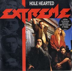 "For Sale - Extreme Hole Hearted UK  7"" vinyl single (7 inch record) - See this and 250,000 other rare & vintage vinyl records, singles, LPs & CDs at http://eil.com"