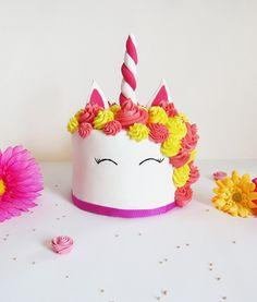 Gateau licorne - Cake design