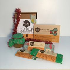 This is an awesome secret santa gift! Or over this festive season you could arrive at friends places for dinner with a beautifully covered dish or platter that will set it apart from the rest. You could even leave it as a gift! http://www.sweetreehoney.co.nz/shop/honey_wraps.html