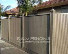 Image result for colorbond fence