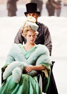 "Princess Elizaveta ""Betsy"" Tverskaya - Ruth Wilson in Anna Karenina, set in the 1870s (2012)."