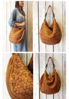 Handmade woven leather bag INTRECCIATO 68