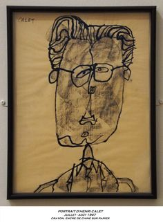 Jean Dubuffet - 22 juin au 2 nov 2014 - Aux Capucins - Landerneau // Les gens sont bien plus beaux qu'ils croient - Vive leur vraie figure // Portraits à ressemblance extraite, à ressemblance cuite et confite, à ressemblance éclatée dans la mémoire de Mr Jean Dubuffet