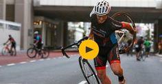 Prova de ciclismo na África do Sul é interrompida devido a ventos ciclónicos. Veja o vídeo.