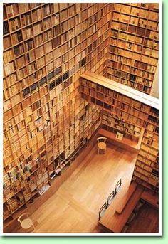 Shiba Ryotaro Memorial Museum Library