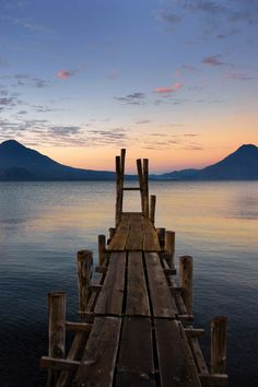 Looking out over Lake Atitlan, #Guatemala