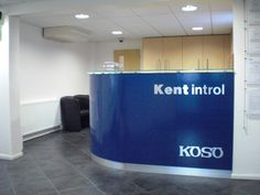 Koso Kentintrol bespoke reception designed and installed