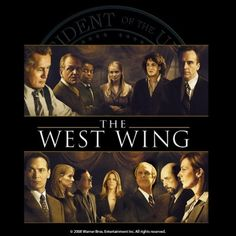 The West Wing - love Aaron Sorkin!