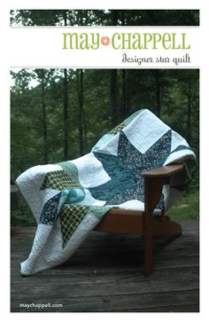 Designer Star Quilt Pattern PDF