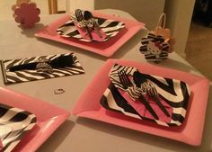 Hello Kitty Pink and Zebra Print Party