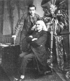 Franz Liszt and Alexander Siloti