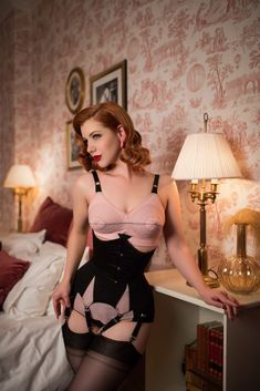 fe43034059 Pinup Gallery 2018 - Miss Victory Violet. Tigz Rice - Lingerie ...