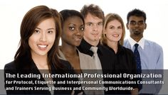 Have you heard of the International Society of Protocol & Etiquette Professionals?