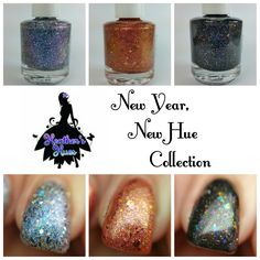 LacqueredMama: Heather's Hues - New Year, New Hue Collection (swatches and review)