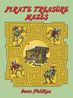 Thirty-five winding mazes challenge young treasure hunters who must avoid swamp creatures, falling rocks, poisonous spikes, fiery lakes, deadly stone statues, and more. Explanatory captions; solutions.