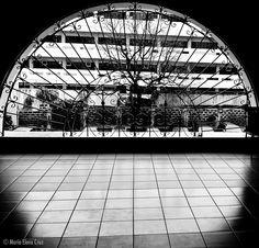 From the 2F of the Razon Sports Complex, DLSU-Manila. Maria Elena Cruz - Google+ Elena Cruz, Sports Complex, Outside World, Manila, The Outsiders, Louvre, Fair Grounds, Architecture, Google