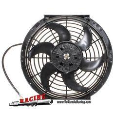 Electroventilador Ventilador Electrico Para Radiador de Coche de 10 Pulgadas 255mm 12V 80W -- 34,48€