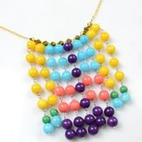 This beaded statement necklace tutorial is mainly teaching you how to make your own statement necklace.