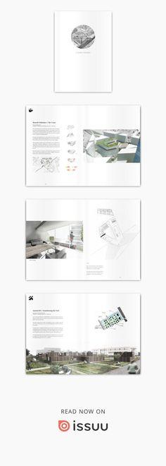 Architecture Portfolio // Romain Hamard Architecture Landscape Portfolio // Romain Hamard #architectureportfolio