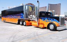 Truck, Big Rig, Peterbilt custom