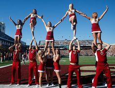 Boston College cheerleaders