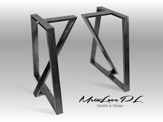 28 TEDOZ 80.20 Iron Table Legs, Height 26 - 32 SET(2) One set includes two identical elements MEASUREMENTS: Width: 70 cm - 28 Height: 72 cm - 28,8 MATERIAL: 80 x 20 mm square tube If You are going to order non standard base or legs, please write which dimension would You like to change: A,B,C, etc. Among photos which we enclosed to the auction, is drawing which contains these symbols : A, B, C, etc. Our products are coated by powder paint. Below we would like to present available colo...
