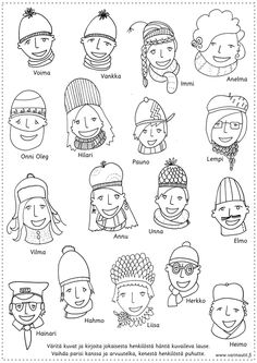 Talvi - Värinautit Word Search, Coloring Pages, Diagram, Words, Quote Coloring Pages, Kids Coloring, Colouring Sheets, Horse, Printable Coloring Pages