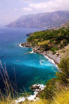 Spiaggia di Cersuta di Maratea (PZ), Italia.