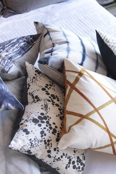 Rebecca Atwood Pillows by @Rebecca Atwood now in store!