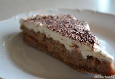 Fotorecept: Rýchla nepečená gaštanová torta Ice Cream Candy, Cake Cookies, No Bake Cake, Tiramisu, Ham, Sweets, Ethnic Recipes, Food, Cakes