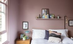 Frankie Graddon is sold on a statement-making hallway and soft-pink bedroom. In partnership with Farrow & Ball Dusty Pink Bedroom, Pink Bedroom Walls, Pink Bedroom Decor, Pink Bedroom For Girls, Bedroom Wall Colors, Pink Bedrooms, Pink Room, Gray Bedroom, Home Bedroom