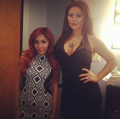 Snooki and JWOWW Show Off Tight Bods While Promoting Their MTV Show (PHOTO)