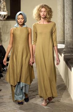 Daniela Gregis  Not crazy about the color but the dress on the right is nice.