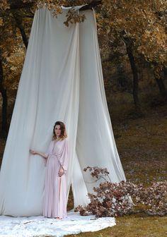 Dusty pink dress, Dusty rose bridesmaid dress, Bridesmaid long dress, Backless long dress, Party dress