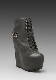 JEFFREY CAMPBELL Damsel-Crs in Black Silver at Revolve Clothing - Free Shipping!-