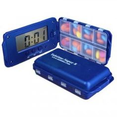 Tabtime Super 8 Pill Timer Reminder with Alarm