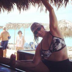 Where do YOU bar?? We love these photos client Suzanne shared with us from her trip to Cayo Santa Maria Cuba! Bar at the bar  #wheredoyoubar #barvanwheredoyoubar #iambarmethod