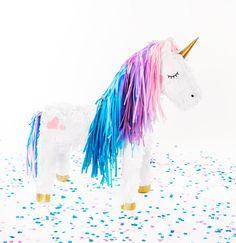 Purple Rain Unicorn Wundertüte von BalloonandPaper auf Etsy