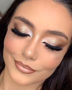 Smokey Eye Makeup Video, Halo Eye Makeup, Soft Eye Makeup, Smoky Eye Makeup Tutorial, Bronze Eye Makeup, Heavy Makeup, Makeup Looks Tutorial, Dramatic Makeup, Smoky Eye Red Lips