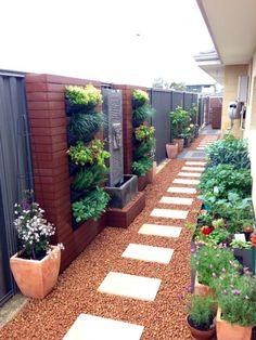Landscaping Supplies, Small Backyard Landscaping, Landscaping Plants, Landscaping Ideas, Pergola Ideas, Patio Ideas, Small Backyard Design, Small Backyard Patio, Narrow Backyard Ideas