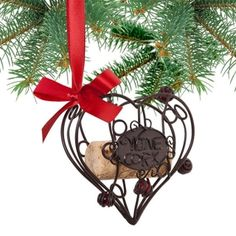 I would totally get this to save the first wine cork of our wedding day in an ornament!!