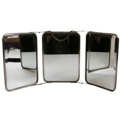 Three Piece Folding Mirror